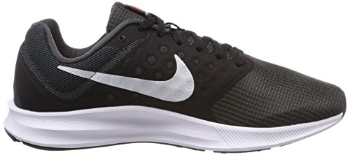 Nike Downshifter 7, Chaussures de Running Homme Gris (Anthracite/pure Platinum-black-bright Crimson)
