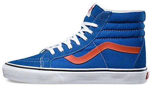 Vans–Sac Sk8-Hi Reissue chaussures - (Golden Coast) Olympian Blue/Burnt Ochre