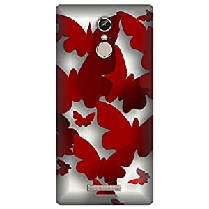 Digi Fashion Designer Back Cover with direct 3D sublimation printing for Gionee S6s