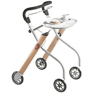 Trust Care Indoor Rollator Let`s Go - beech / silver, not present