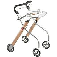 Trust Care Indoor Rollator Let's Go Holz silber