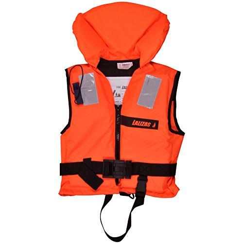 Lalizas | Feststoff-Rettungsweste | Feststoffweste | 100 N, CE ISO 12402-4-zertifiziert für Kleinkinder | Kinder | Damen | Herren