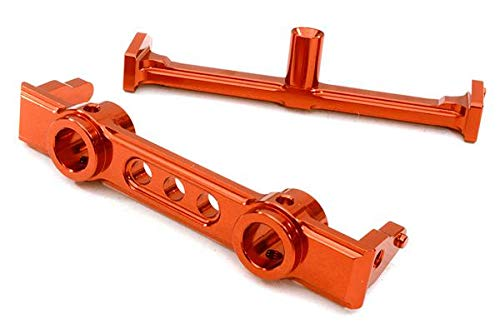 Integy RC Model Hop-ups OBM-1214RED 40mm Type Front Bumper Mount & Chassis Brace for SCX-10 Honcho, Jeep & Dingo