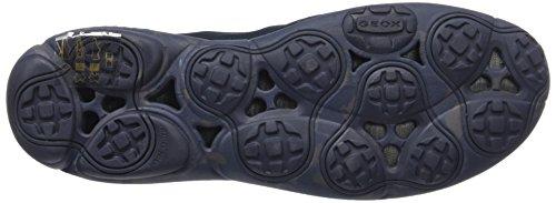 Geox U Nebula B, Sneakers Basses Homme Bleu (Navy)