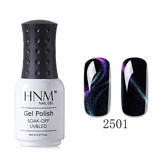 HNM Chameleon Oeil De Chat 3D Effet Magnétique Gel Vernis À Ongles Vernis Manucure UV LED Soak Off 8ML HNM-2501