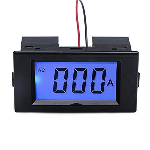 DROK® AC 0-100A Ampere Meter LCD Digital Display Panel Current Testing Meter Amp convertor AC Ammeter