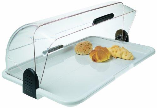 Biesse Casa Classica - Polibox, Contenitore grande per generi alimentari con lati apribili, colore: Bianco
