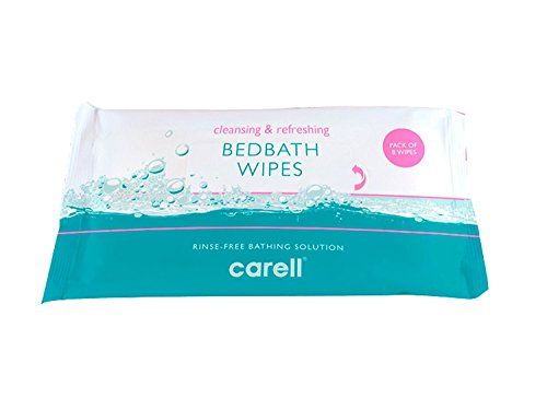 Clinell Bedbath Wipes, Pack of 8 Moisturising Bathing Wipes, TRIPLE PACK -