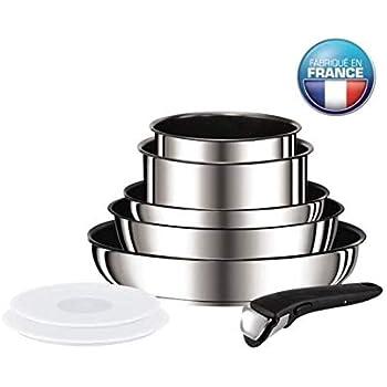 Tefal ingenio preference batterie de cuisine 8 pieces - Batterie de cuisine induction inox ...