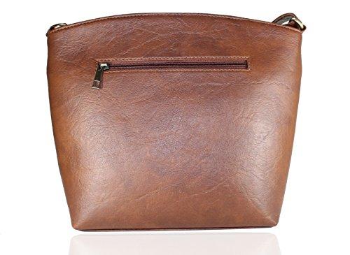 8ae95ac8b704 ... Fargo Sun dry PU Leather Women s   Girl s Side Sling Shoulder Bag ...