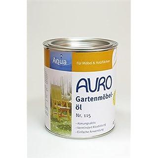 Gartenmöbelöl 'Aqua' (0,75l) von Auro