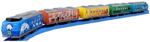 Plarail - Fun Train Series: Asahiyama Doubutsuen-Go (Asahiyama Zoo Train) (5-Car Set) (Model Train)