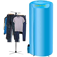 Secador de tela portátil plegable 1000W mini armario, adecuado para viajar, se puede llevar