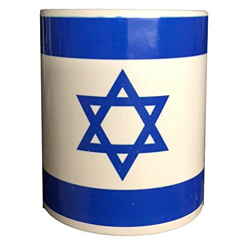 SKYNET Taza, diseño de bandera de Israel