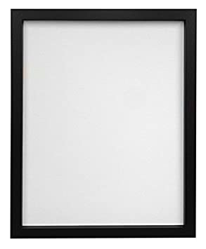frames by post 18 x 12 inch rio picture photo frame black