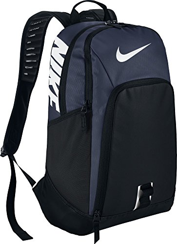 nike NK Alpha REV Bkpk Mochila, Unisex Adulto, Azul Marino / (Midnight Navy / Black / White), MISC