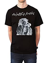 The Smashing Pumpkins T Shirt Stay Positive Band Logo Official Mens Black