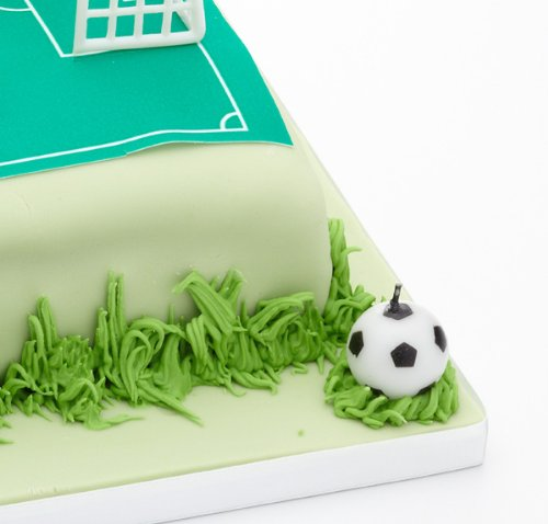 confronta il prezzo Sweetly Does It – Set di 6 candeline a forma di pallone da calcio