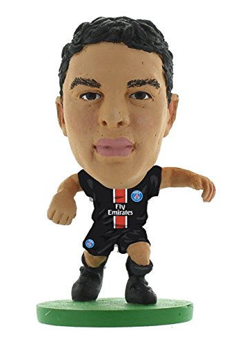 SoccerStarz 2016 Paris St Germain Thiago Silva Home Kit