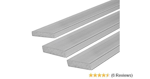 0,5 m schwei/ßbar Ma/ße 50 x 2 mm L/änge ca roh unbehandelt B/&T Metall Aluminium Flach eloxierf/ähig