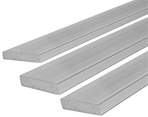 Preisvergleich Produktbild Aluminium Flachmaterial Flach Flachstange 40x3,0 mm 1000mm
