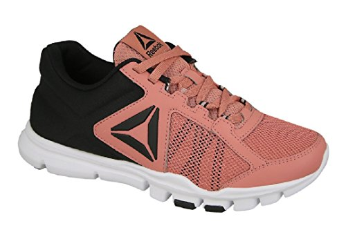 Reebok Yourflex Trainette 9.0 Mt, Scarpe Running Donna Rosa (Sandy Rose/black/white)