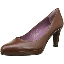 Studio Paloma Damen 17044 Pumps, Braun-Marron (Tibet Brandy), 38 EU