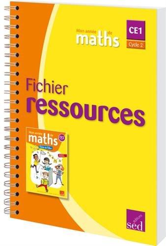 Mon année de maths CE1 : Fichier ressources par (Broché - Apr 15, 2017)