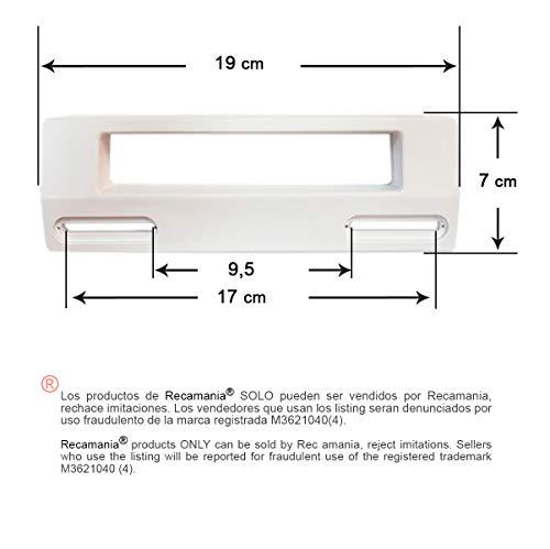 Recamania® - Universal Verstellbare Kühlschrank Gefrierschrank Türgriff (190mm, weiß)