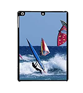 ifasho Designer Back Case Cover for Apple iPad Air :: Apple iPad Air Wi-Fi + Cellular :: Apple iPad 5 (Beach Cover Up Beach Dress For Men Beach Earphones)
