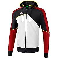 Erima Kinder Premium One 2.0 Trainingsjacke, mit Kapuze