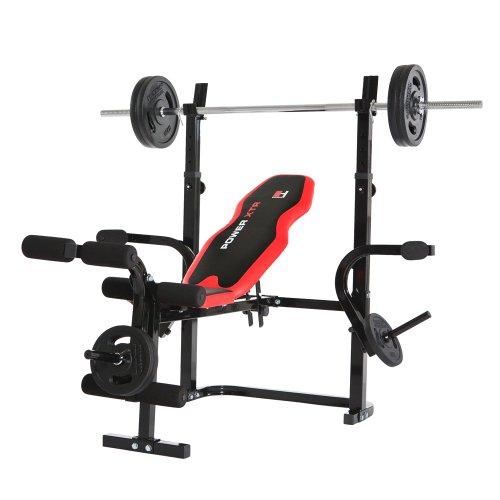 HAMMER Hantelbank POWER XTR - Für voluminöse Brustmuskeln, mega Sixpack, beeindruckende...