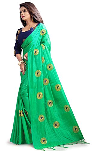 Flowers-Fashion-Saree-With-Blouse-Piece