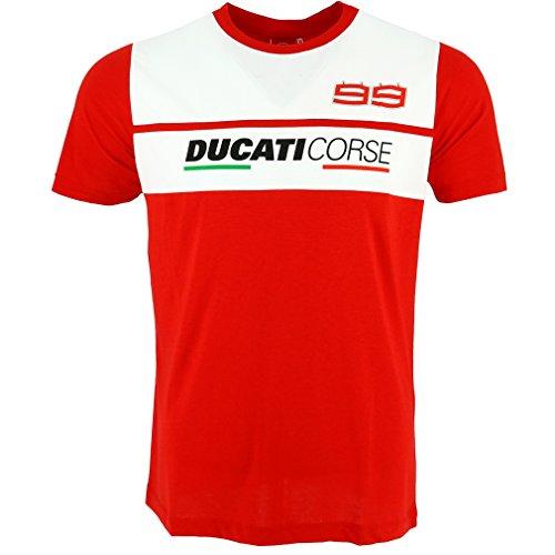 pritelli 1836014/S Camiseta Hombre Ducati Corse Jorge Lorenzo 99, Talla S