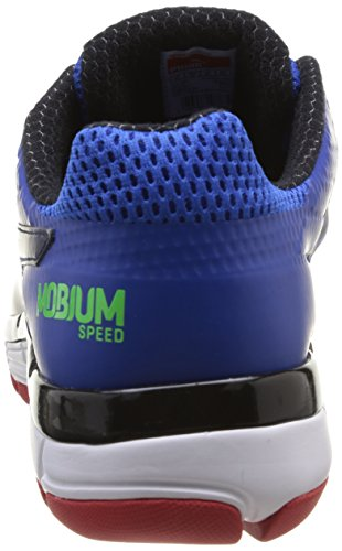 Puma Mobium Elite Speed, Herren Laufschuhe  Blau Bleu (Strong Blue/Navy/Red) Blau - Bleu (Strong Blue/Navy/Red)