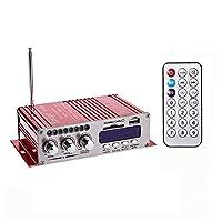 Sound Amp، Phomnd Mini BT Stereo Audio Power Portable Sound Amp مع جهاز تحكم عن بعد للمنزل والسيارة