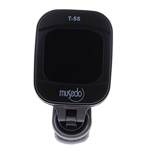 Phenovo Musedo T-5S Clip-on Tuner LCD Display Tuner For Guitar Bass Violin  available at amazon for Rs.520