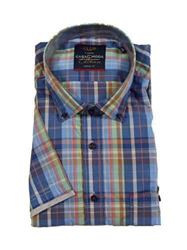 CASAMODA Herren Freizeithemd 962404900 Blau (blau 100)