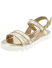 BIONATURA - Sandalo bianco perlato in pelle, esclusivamente made in Italy, Bambina, Ragazza-31