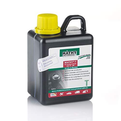 MATHY-T Additiv für Schalt und Achsgetriebe zum Schutz vor Verschleiß und Vorbeugung von Getriebeschäden 500ml