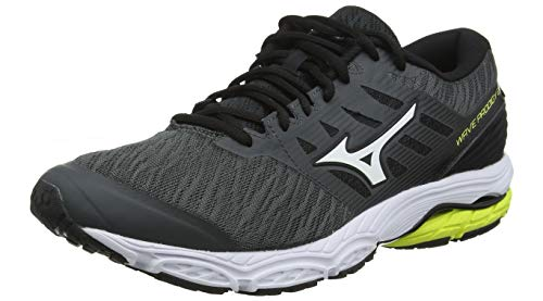 Mizuno Wave Prodigy 2, Scarpe Running Uomo, Nero (Black/White/Stormy Weather 44), EU