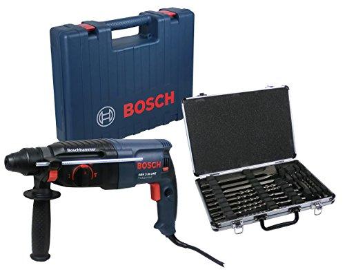 Preisvergleich Produktbild Bosch GBH 2-26 DRE SDS Plus Schlagbohrmaschine + Bohrer & Meißelset
