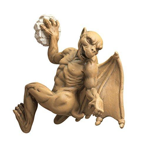 Design Toscano Gaston, the Gothic Gargoyle Computer Climber Statue by Design Toscano - Gothic Gargoyle