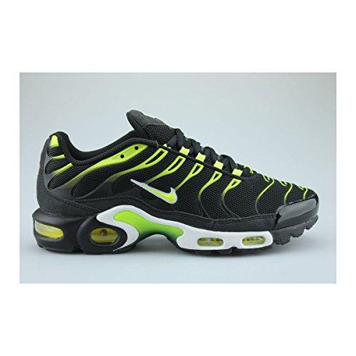 Nike Air Max Plus Txt, Chaussures de Sport Homme noir volt blanc 072