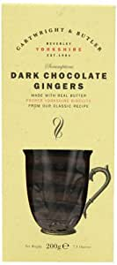 Cartwright And Butler Dark Chocolate Ginger Biscuits