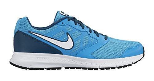 Nike Downshifter 6, Chaussures de course homme Blau / Schwarz / Grün / Weiß (Blaue Lagune / Schwarz-Teal-weiß)