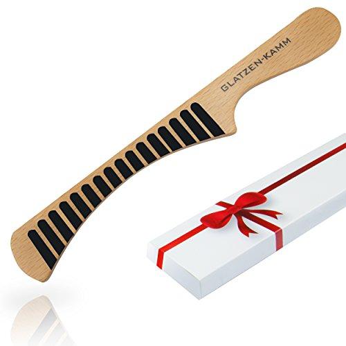 geschenk - für Männer - der Kamm für die Glatze - passt zu jedem Anlass - witziger Scherzartikel (Glatze Hats)