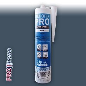 Orac FDP500 DecoFix Pro Acryl Kleber Kartusche 310 ml | Montagekleber Acrylkleber für Zierprofile Paneele Dekor-Elemente von Orac Decor bei TapetenShop
