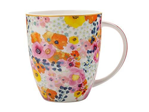 Maxwell Williams DX0172 Mug en porcelaine anglaise Motif fleurs Cashmere