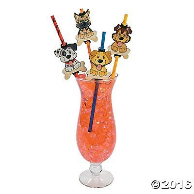 y Straws - 24 ct by Party Supplies ()